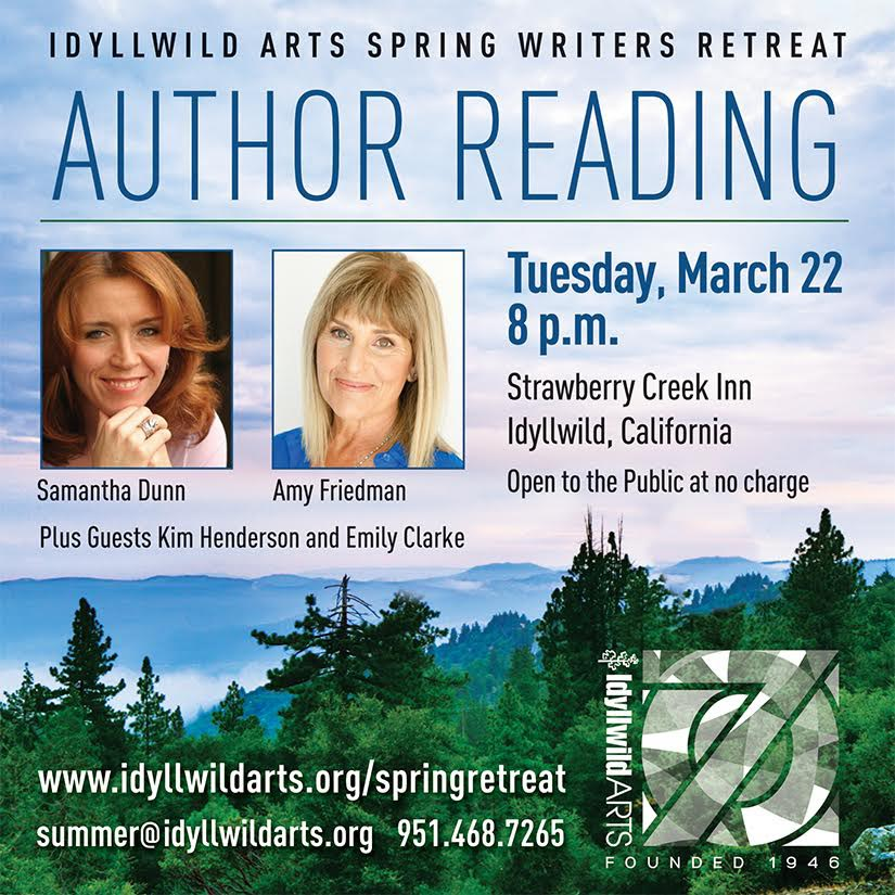 Author Reading March 22